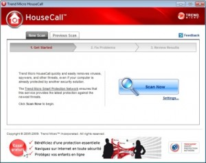 HouseCall antivirus gratuit