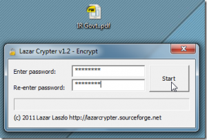 Lazar Crypter
